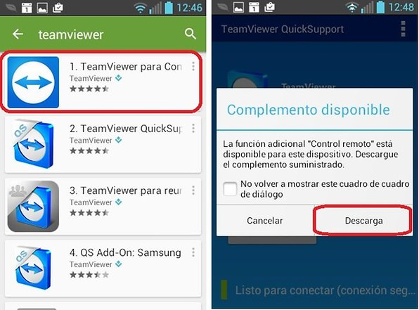 TeamViewer QuickSupport: Control remoto de Android | AndroidPIT