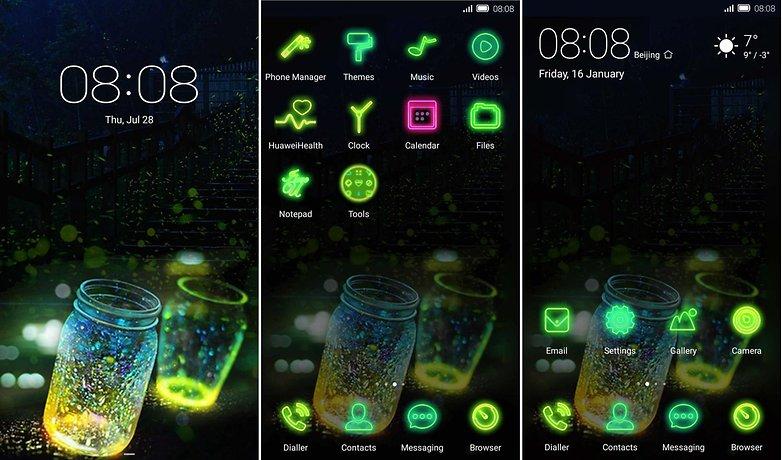 emui themes Neon