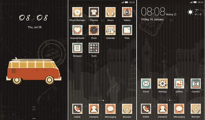 emui themes keep on travel