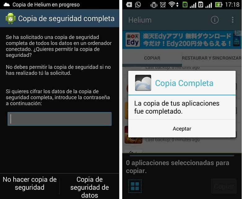 C mo hacer backup en android androidpit for Ver telefono