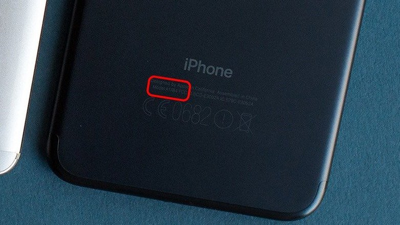 iphone model number