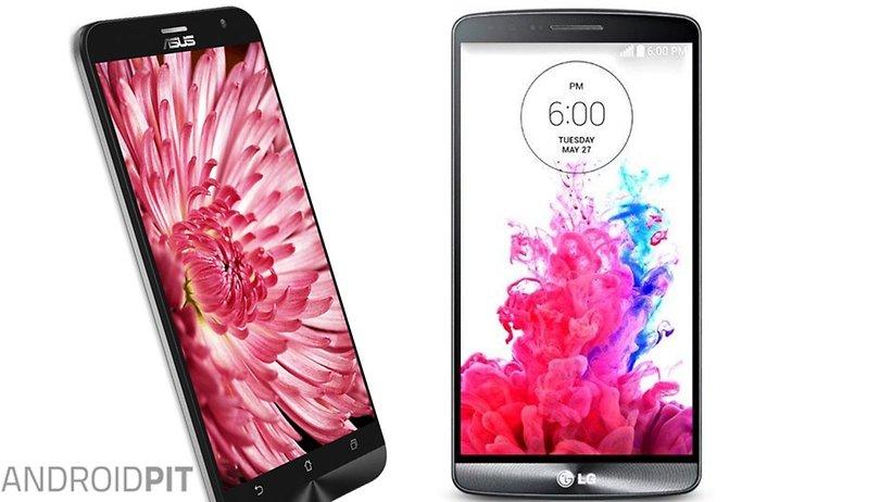 Comparación: Asus Zenfone 2 vs LG G3, dos pantallas de 5,5 pulgadas con diferente resolución