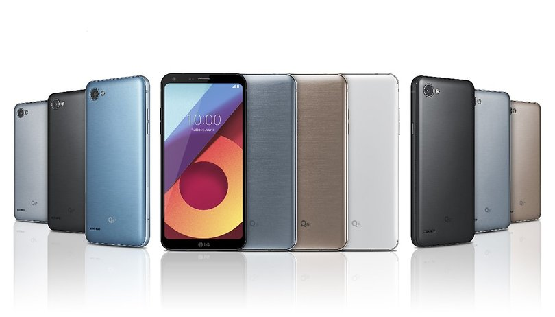 The LG Q6 is official: the mini G6 has FullVision display and Snapdragon 435