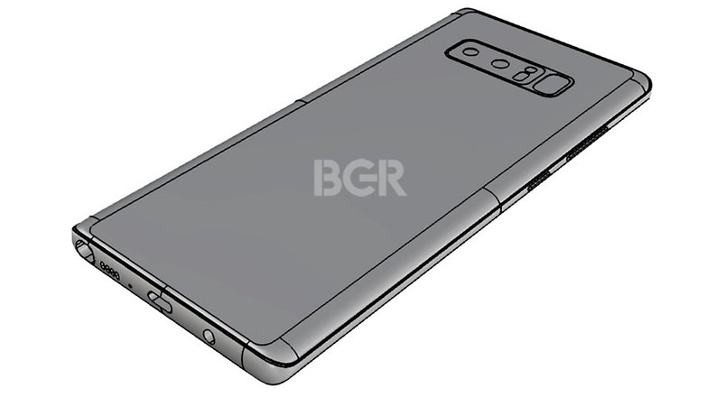 Samsung galaxy note 8 rumor