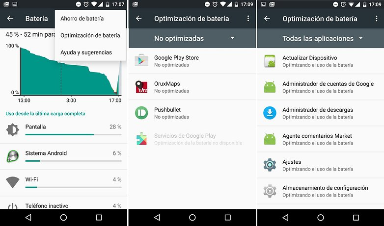 Android Marshmallow funciones 07
