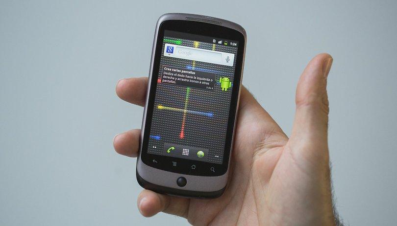 Comparación de Nexus One vs Nexus 5X: ¿Qué ha cambiado 7 generaciones después?