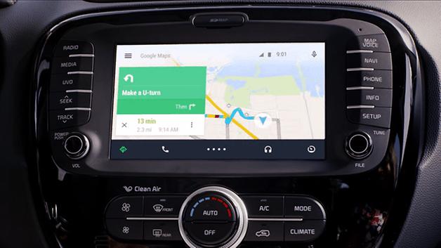 Anteprima di Android Auto 3