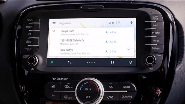 Anteprima di Android Auto 4