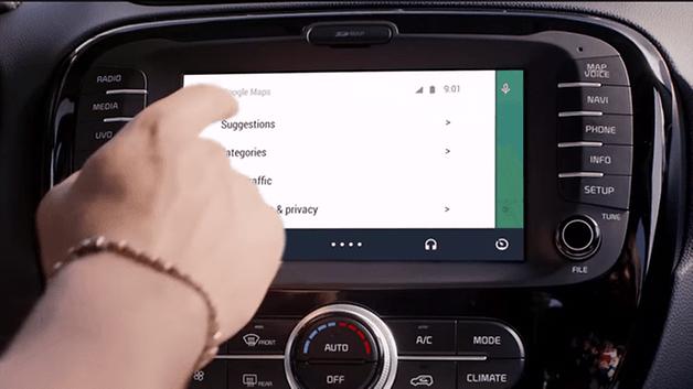 Anteprima di Android Auto 5