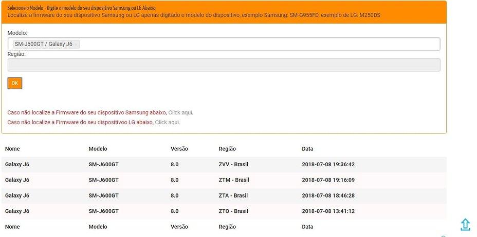 Firmware Samsung | Fórum AndroidPIT