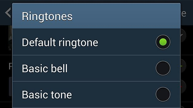 AndroidPIT Galaxy S4 ringtones
