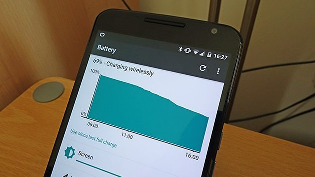 AndroidPIT Nexus 6 wireless charging