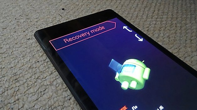 AndroidPIT nexus 7 2013 recovery mode