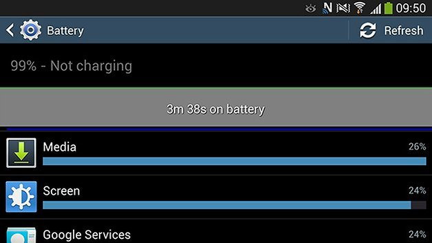 androidpit android kitkat battery
