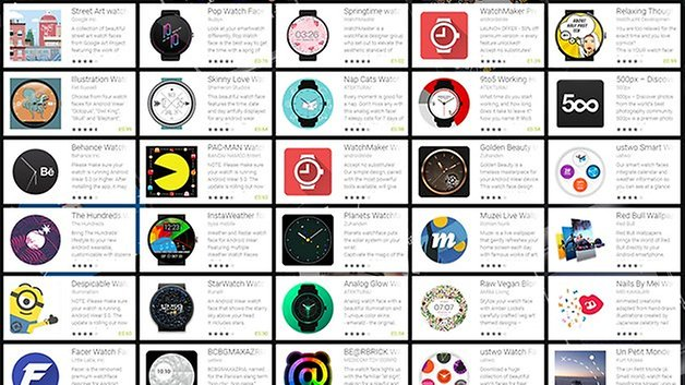 androidpit android wear watch face gallery