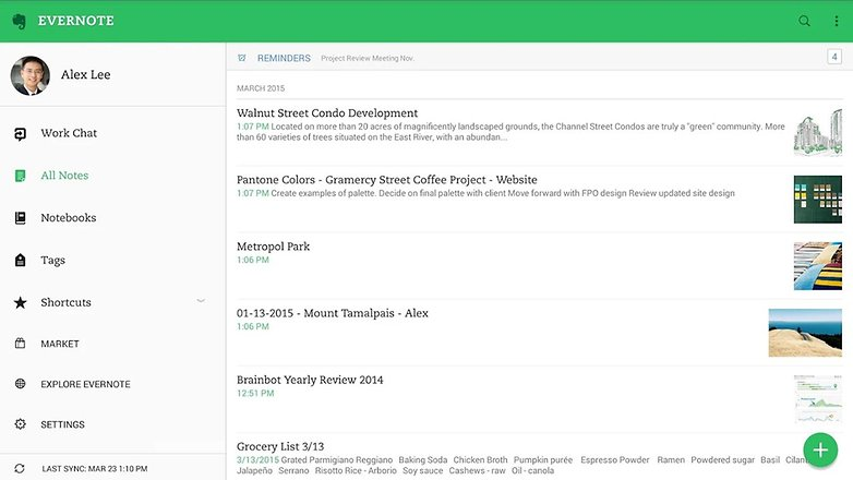 androidpit evernote