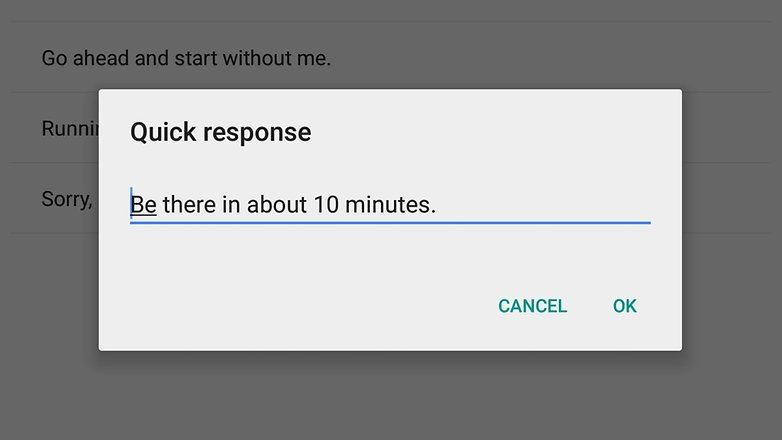 androidpit google calendar quick responses