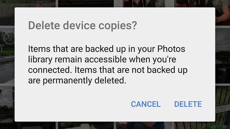 androidpit google photos delete