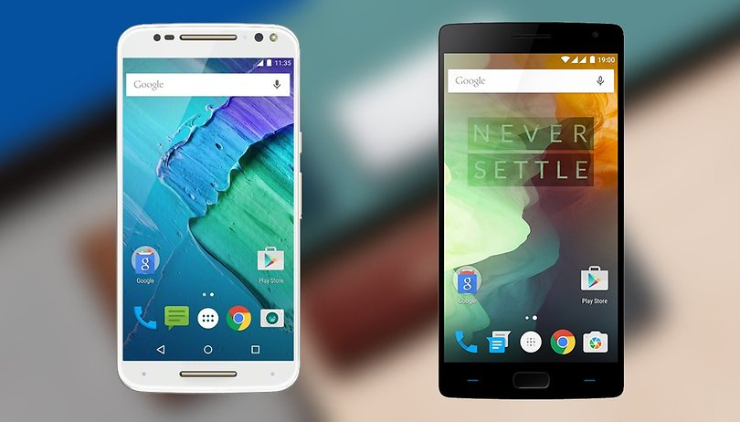 Moto X Style vs OnePlus 2 comparison: the big rivalry
