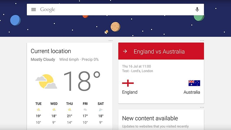 androidpit new user google now