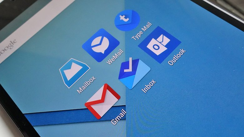 androidpit nexus 6 email apps