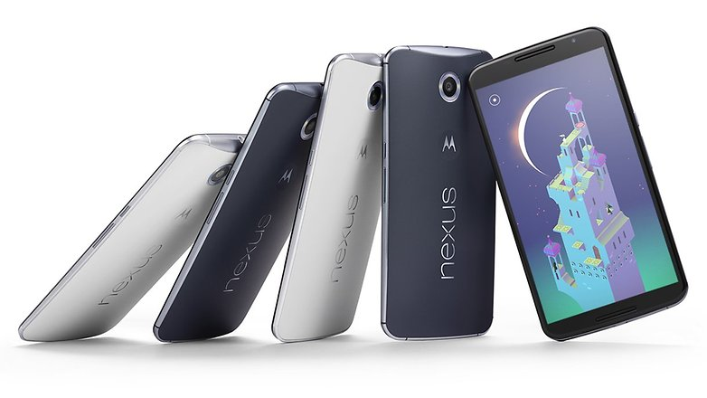 androidpit nexus 6 in a row