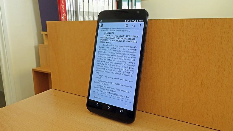 androidpit nexus 6 kindle