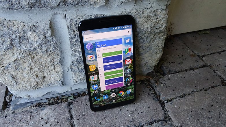 androidpit nexus 6 outside 5