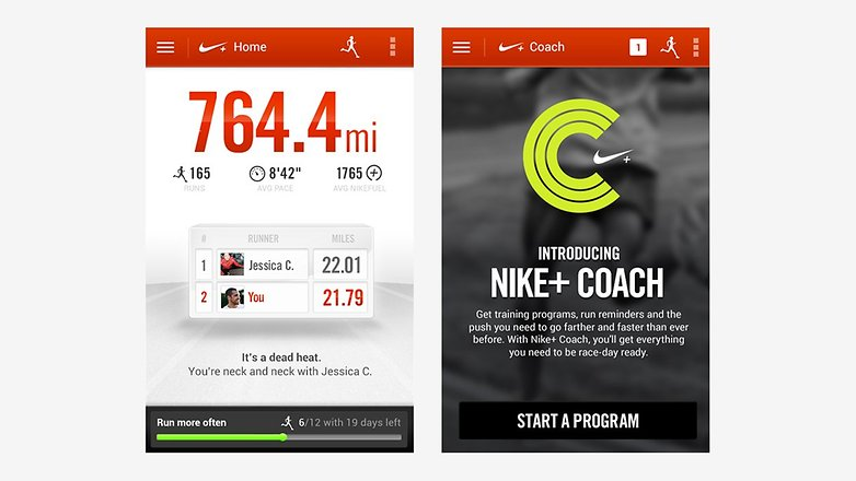 androidpit nike running