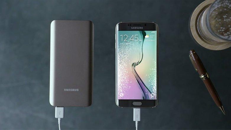 androidpit samsung galaxy s6 charging