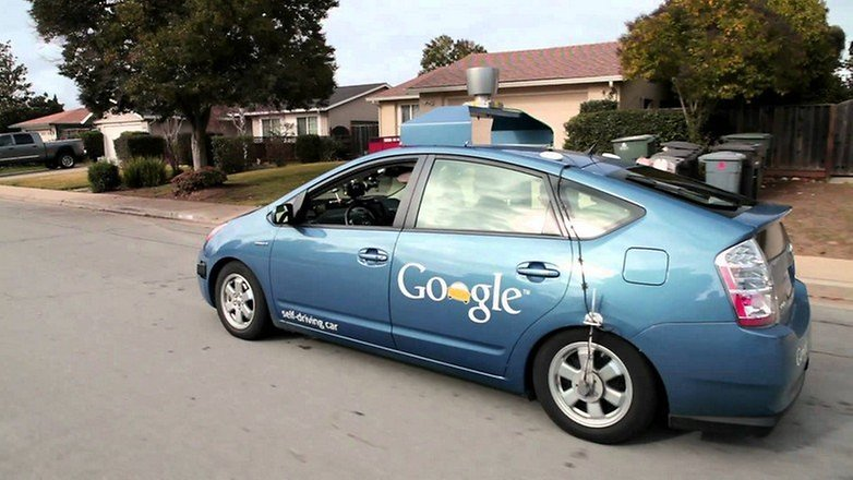 toyota prius autonomo google