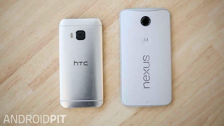 HTC M9 vs NEXUS 6 comparison 6