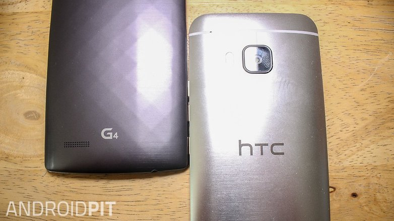 HTC one M9 LG G4 comparision001