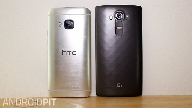HTC one M9 LG G4 comparision002