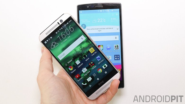 HTC one M9 LG G4 comparision004