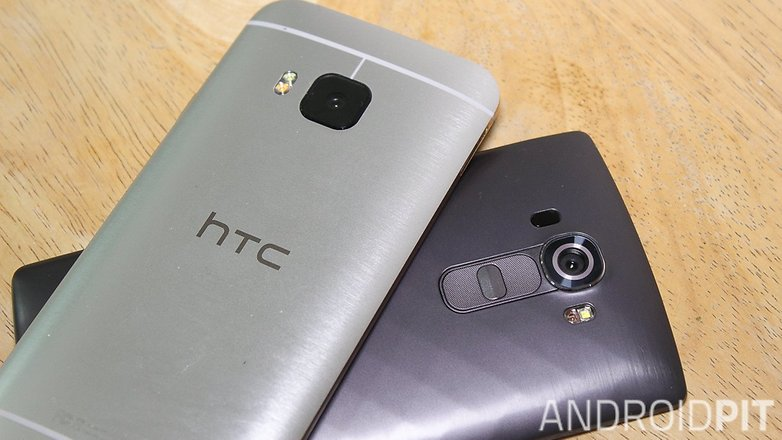 HTC one M9 LG G4 comparision005
