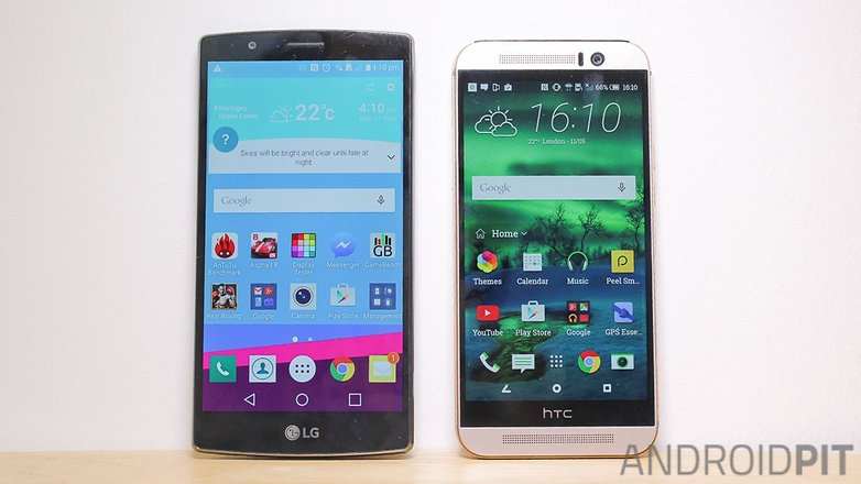 HTC one M9 LG G4 comparision007