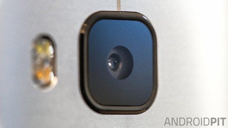 htc one m9 camera lens closeup