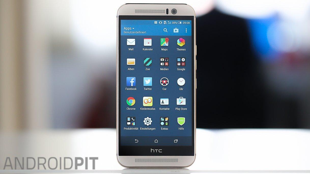 HTC One M9 im Test: Neue Software macht das M9 zum Top ...