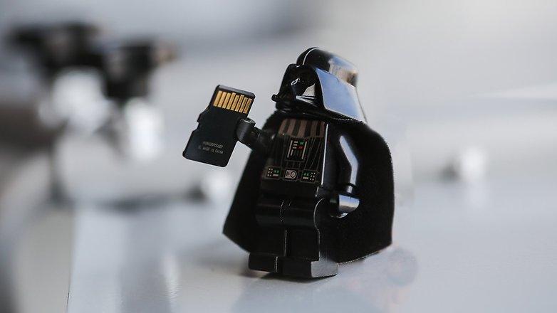 Darth Vader micro SD ANDROIDPIT