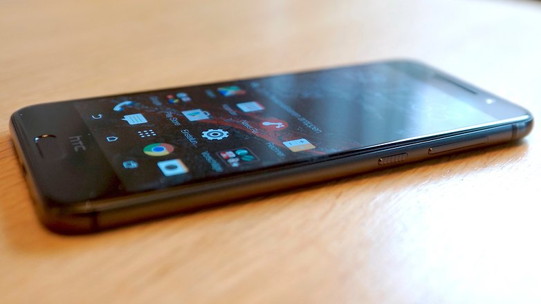 HTC One A9 screen viewing angle