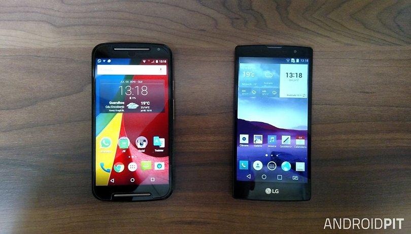 LG Prime Plus 4G vs. Moto G 4G 2015: quem leva a melhor?