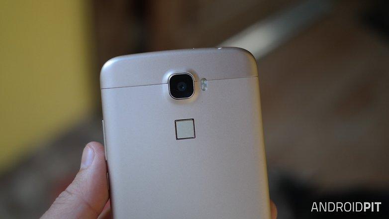 Oukitel U10 fingerprint