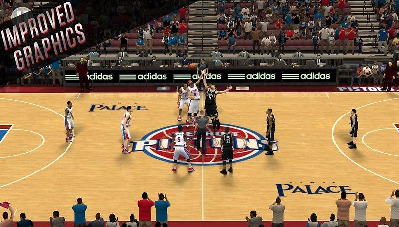 Conheça o jogo de basquete mais realista do Android, o novo NBA 2K16