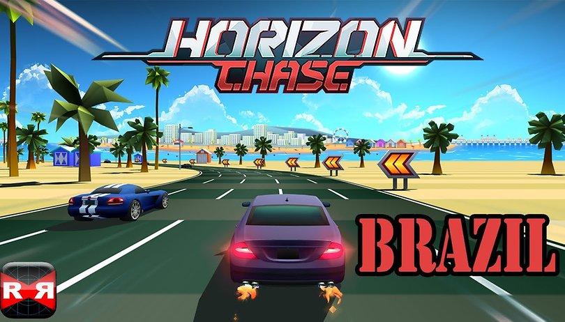 Horizon Chase, o Top Gear moderno, chega ao Android!