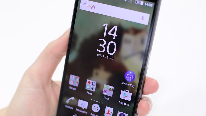 review xperia z5 PT tela