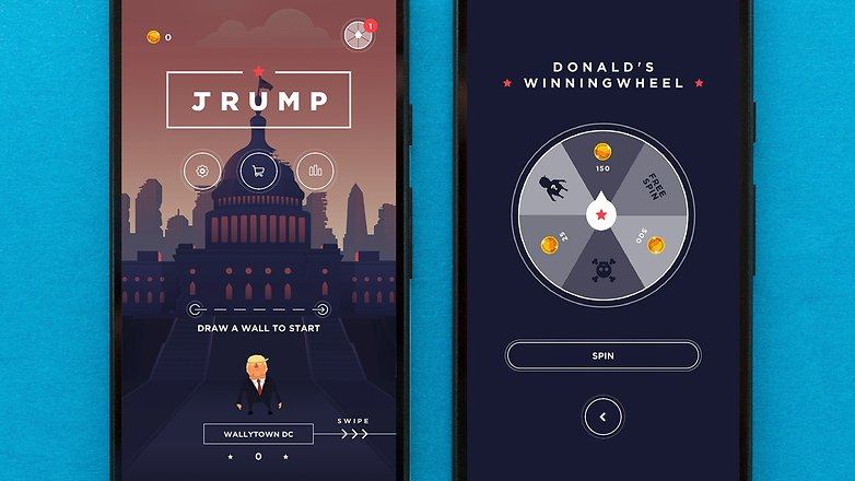 AndroidPIT trump app 1