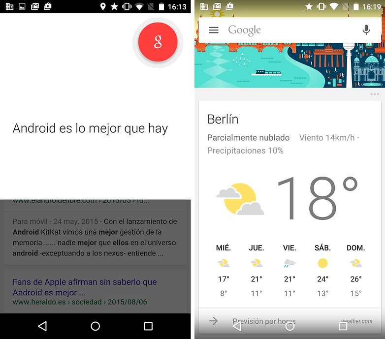 android google now