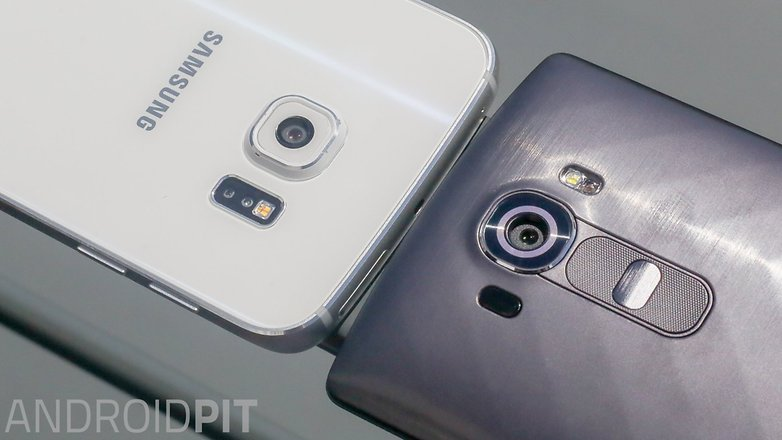 camera comparison lg g4 galaxy s6