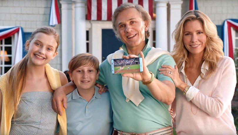 Christoph Waltz promociona el Galaxy Note 7 con una parodia americana
